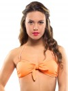 Extra bow orange (for bandeau or in your hair) 1