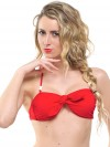 Extra bow red (for bandeau or in your hair) 1