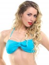 Extra bow turquoise (for bandeau or in your hair) 1