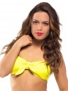 Extra bow yellow (for bandeau or in your hair) 1