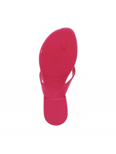 Pink flip-flops exchangeable bow 2