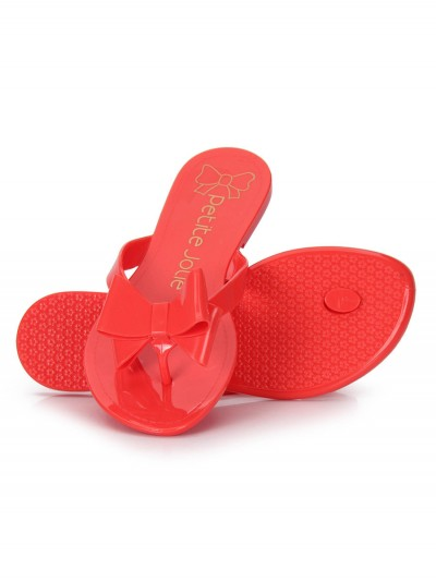 Red flip-flops bow 2