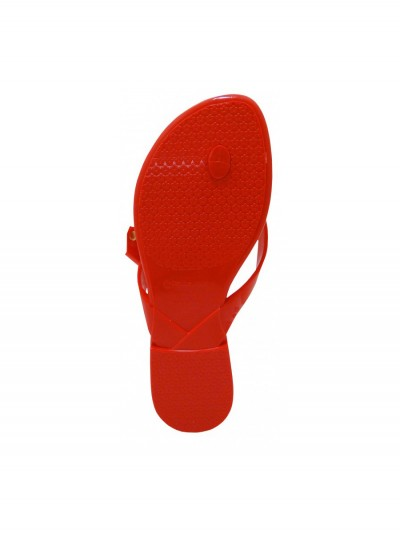 Red flip-flops exchangeable bow 2